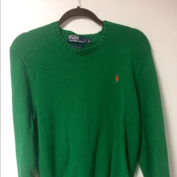9750fb8fe Vintage Green Polo RL Sweater. M 5a89b6e83a112e5780a74363